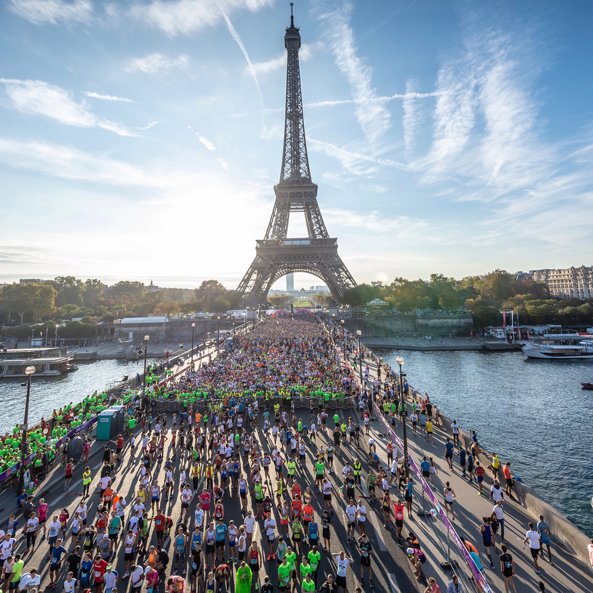 Le Chef Thierry Marx au 41ème 20km de Paris