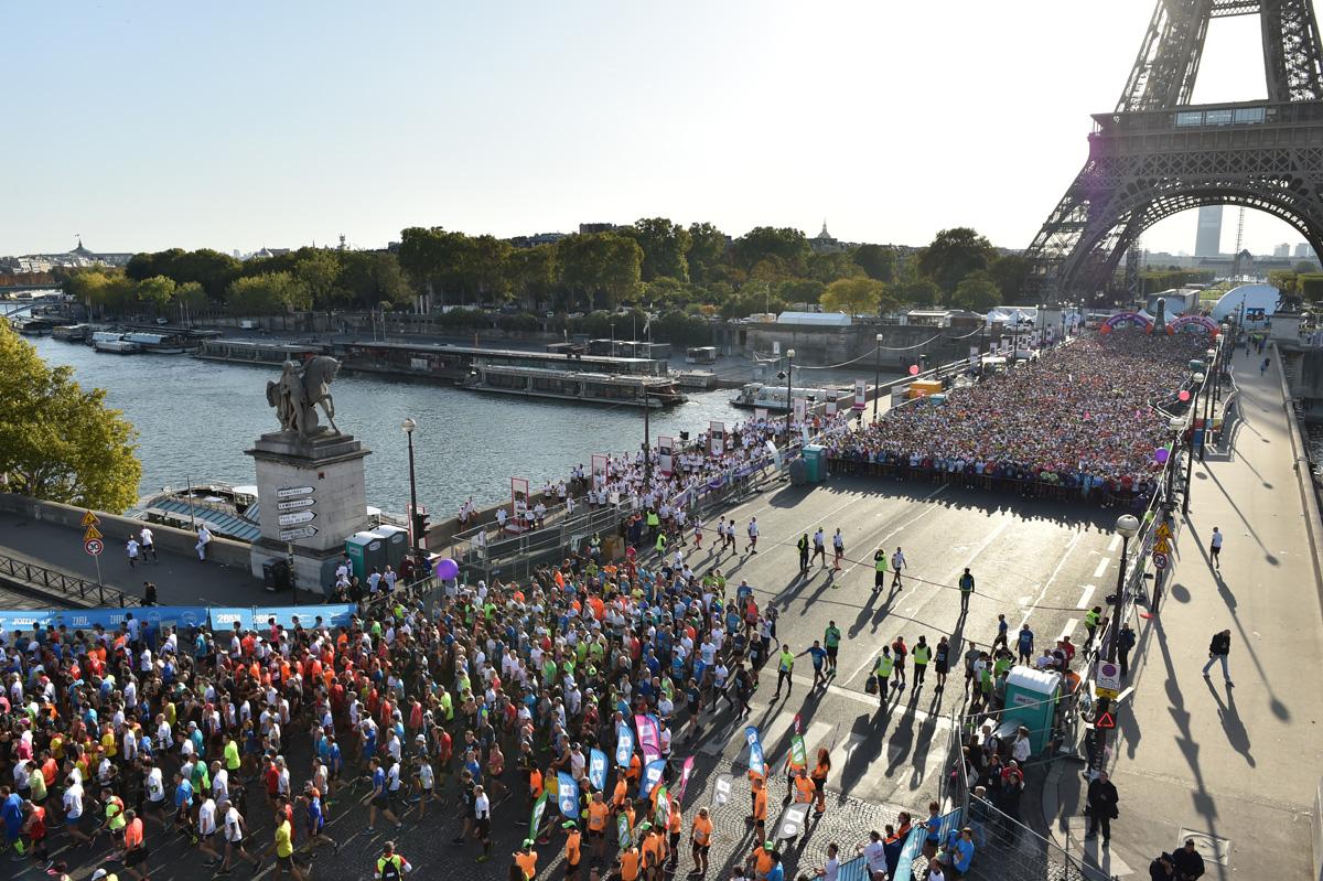 20km de Paris : 30 000 coureurs – plus de 85 nationalités représentées !