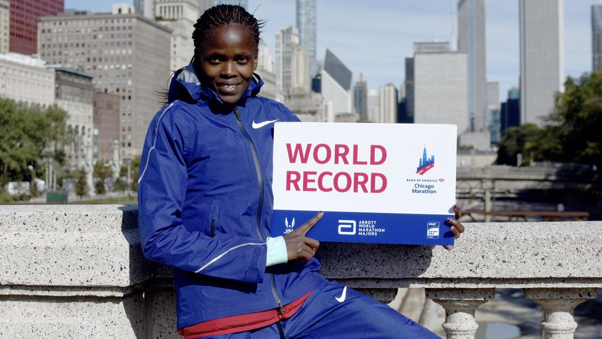 Marathon de Chicago : le vrai record du monde c'est celui-là !