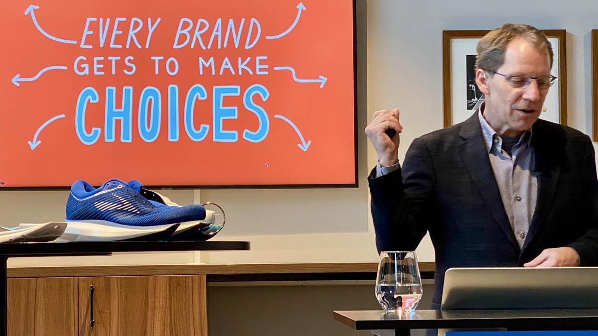 un matin avec Jim Weber, CEO de Brooks, part II.