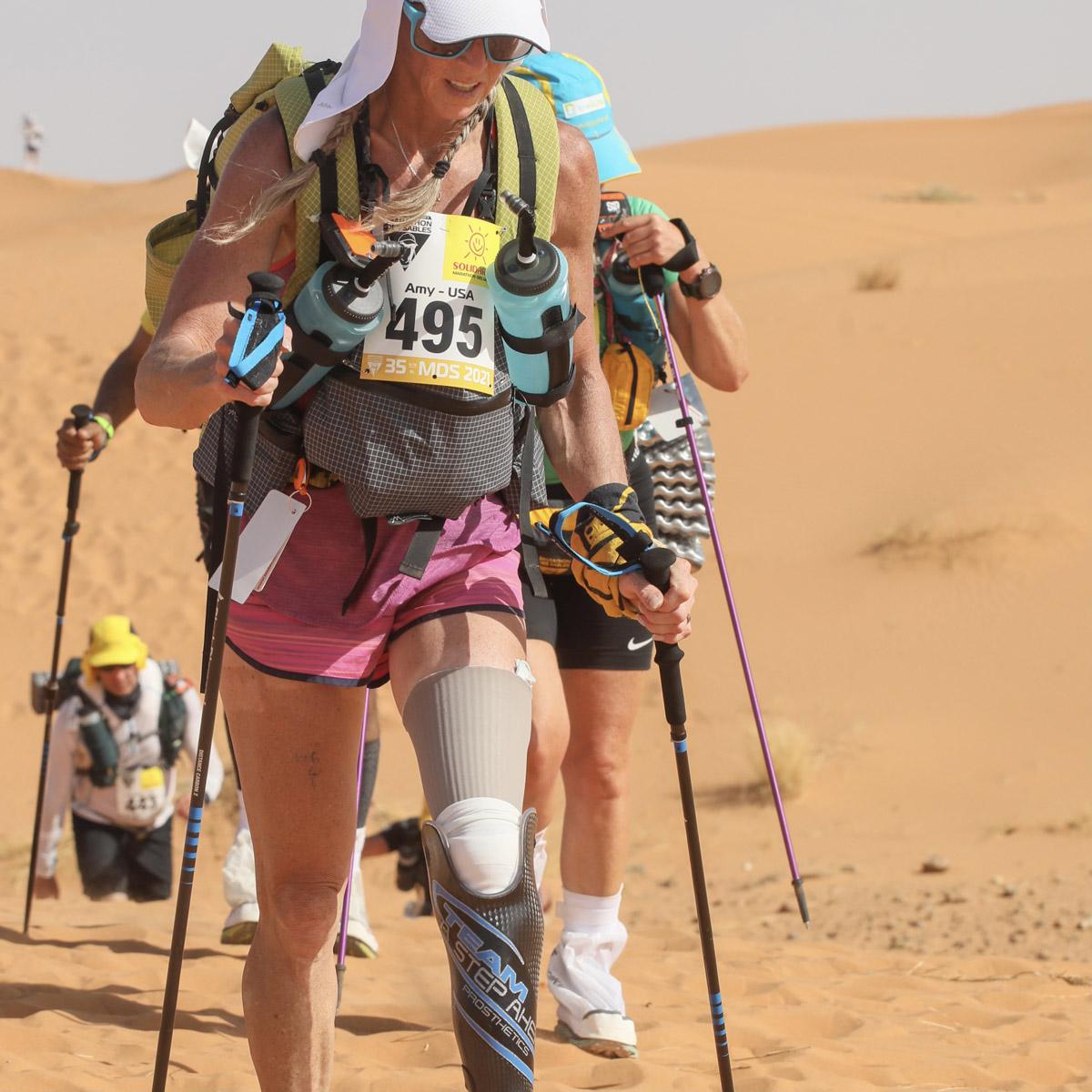 Marathon Des Sables. 672 partants. 104 abandons. 1 mort.